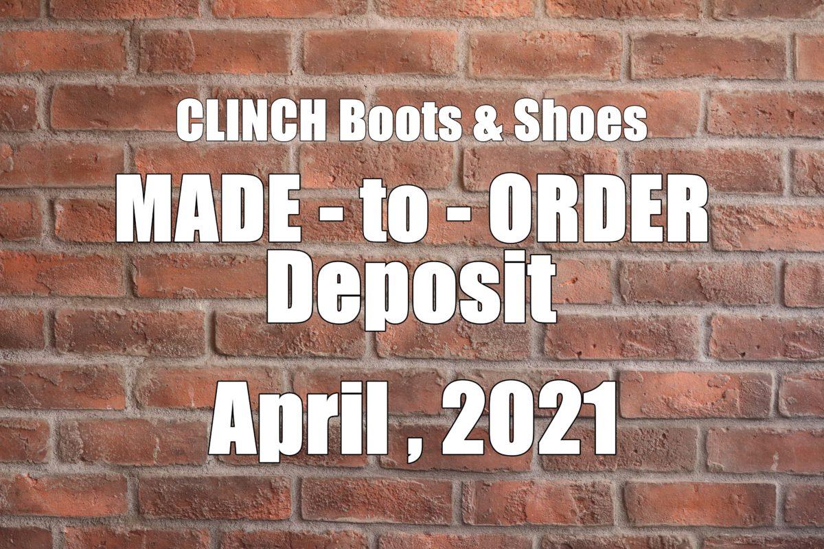 CLINCH MTO Deposit