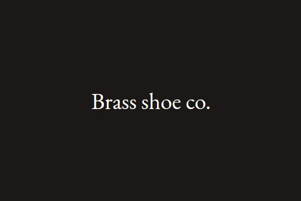 Brass shoe co.